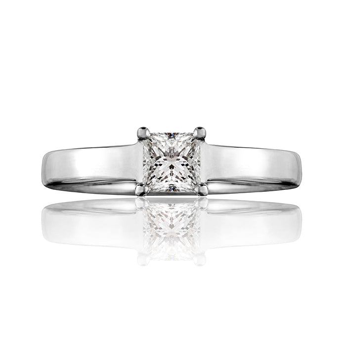 Dorchester Princess Cut Diamond Ring