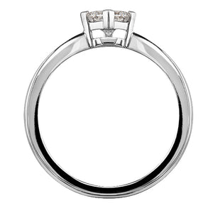 Prelude Princess Cut Diamond Ring