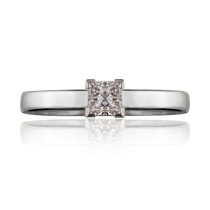 Victoria Princess Cut Diamond Ring
