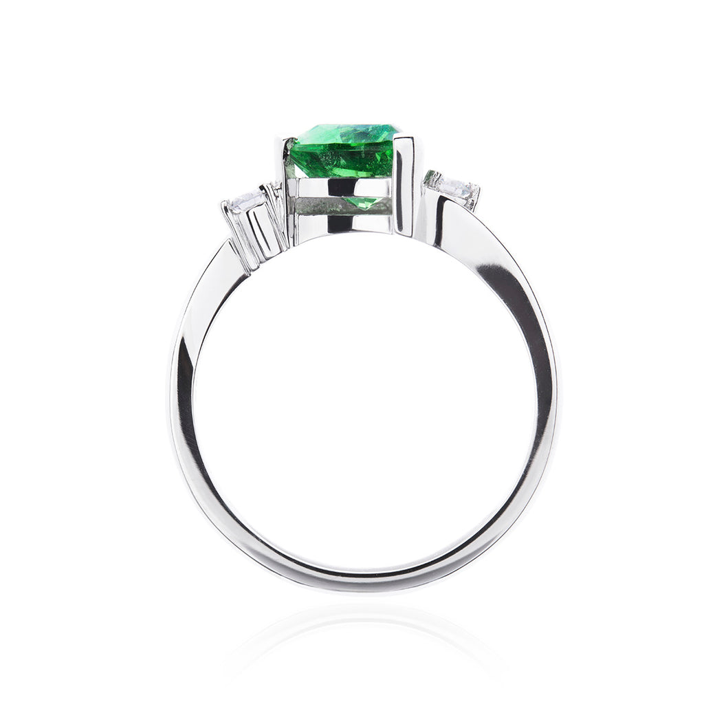 Constellation Tourmaline and Diamond Ring