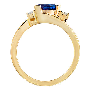 Constellation Sapphire & Diamond Ring
