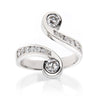 Venus Platinum Diamond Ring