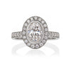 Oval Diamond Grand Heritage Ring