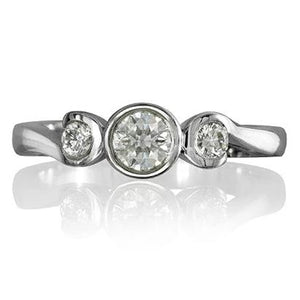 Mayfair Trilogy Diamond Ring