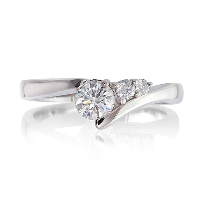 Shooting Star Diamond Ring