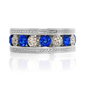 Dorset Sapphire and Diamond Ring