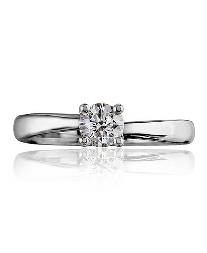 Regent Solitaire Twist Diamond Ring