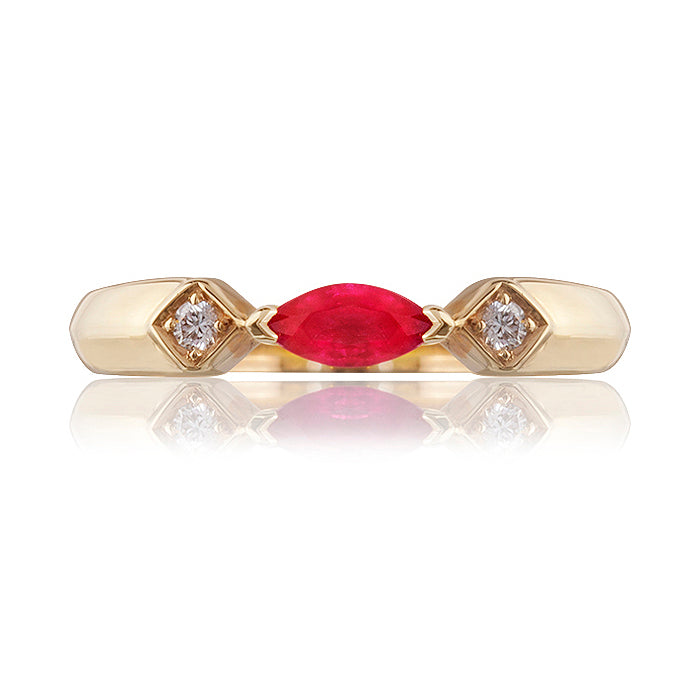 Kenilworth Ruby & Diamond Ring