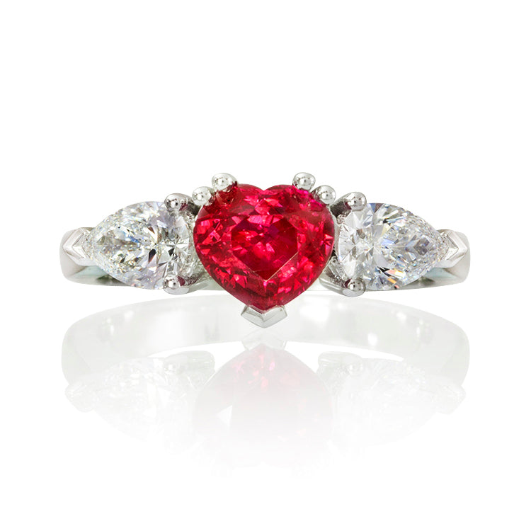 Romance Ruby & Diamond Ring