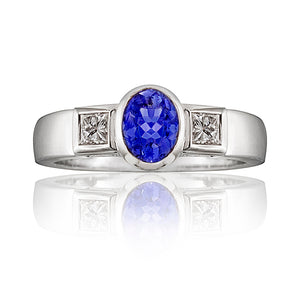 Stratford Tanzanite & Diamond Ring