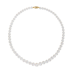 Windsor Graduated Fresh Pearl Necklace