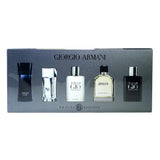Armani 5-Piece Mini Gift Set For Men - Armani Code, Armani Pour Homme, Acqua Di Gio, Acqua Di Gio Profumo & Emporio Armani Diamonds