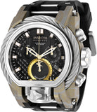 Invicta Men's 26442 Reserve Quartz Multifunction Black Dial Watch