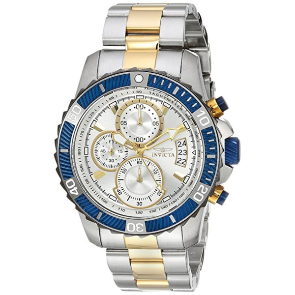 Invicta Men's 23994 Pro Diver Quartz Multifunction Silver Dial Watch