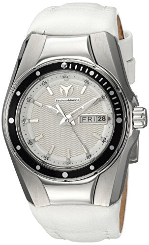 Technomarine Women's TM-115389 Cruise Quartz Silver Dial Watch