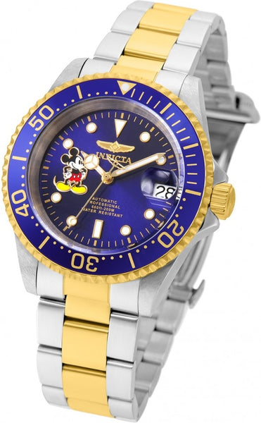 Invicta Men's 22778 Disney Automatic 3 Hand Blue Dial Watch