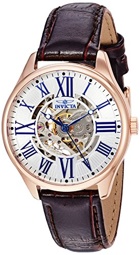 Invicta Women's 23660 Vintage Automatic 3 Hand Silver Dial Watch
