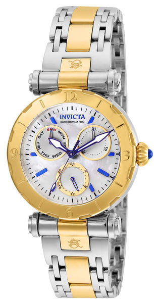 Invicta Women's 24464 Subaqua Quartz Chronograph White Dial Watch