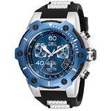 Invicta Men's 25871 Bolt Quartz Chronograph Blue Dial Watch
