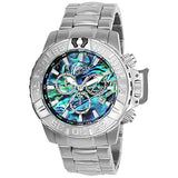 Invicta Men's 25097 Subaqua Quartz Chronograph Blue, Green Dial Watch