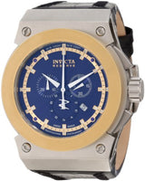 Invicta 10952 Men's Akula Reserve Chronograph Blue Textured Dial Watch