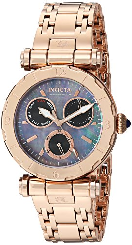Invicta Women's 24429 Subaqua Quartz Chronograph Black Dial Watch