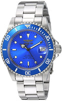 Invicta Men's 24761 Pro Diver Automatic 3 Hand Blue Dial Watch