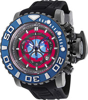Invicta Men's 25621 Marvel Quartz Chronograph Grey Dial Watch