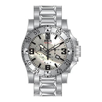 Invicta Men's 25202 Jason Taylor Quartz 3 Hand White Dial Watch
