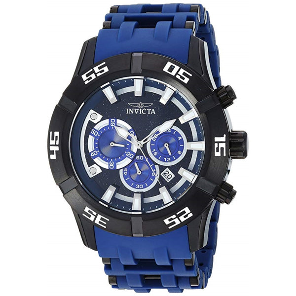 Invicta Men's 26533 Sea Spider Quartz Chronograph Blue Dial Watch