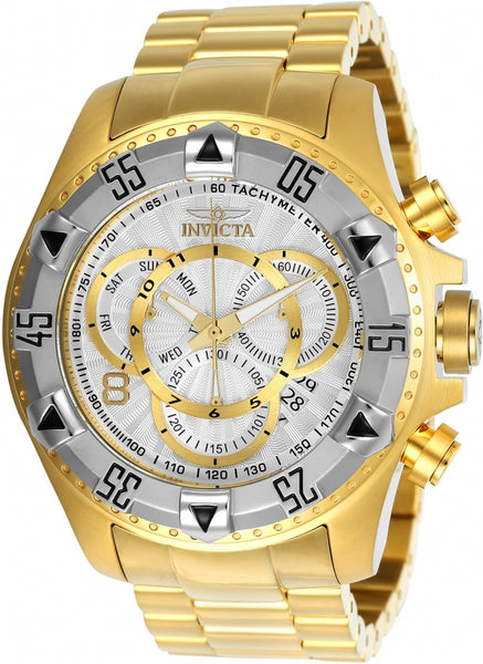 Invicta Men's 24264 Excursion Quartz Multifunction Silver Dial Watch
