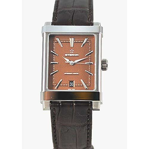 Eterna 8492.41.21.1162D Eterna-Matic Grande Men's Leather Swiss Automatic Watch
