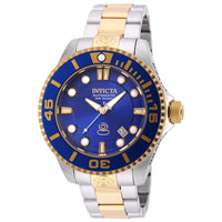 Invicta Men's 19804 Pro Diver Automatic 3 Hand Blue Dial Watch