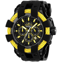 Invicta Men's 23871 Bolt Quartz Chronograph Black Dial Watch