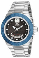 Invicta 10884 Mens Midsize Subaqua Sport Swiss Day Retrograde Blue Bezel Watch