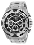 Invicta 22318 Men's Pro Diver Stainless Steel Quartz Black Dial Analog Watch