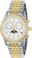 Invicta Women's 22506 Angel Quartz Multifunction Silver Dial Watch
