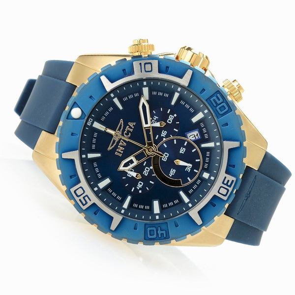 Invicta Men's 22525 Aviator Quartz Multifunction Blue Dial Watch