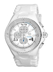 TR Men's TM-115108 Cruise JellyFish Quartz Silver Dial Watch