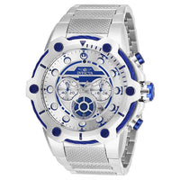 Invicta Men's 26220 Star Wars Quartz Multifunction White Dial Watch