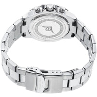 SO&CO New York Men's 5004.2 Monticello Quartz GMT Day and Date Stainless Steel Link Bracelet Watch