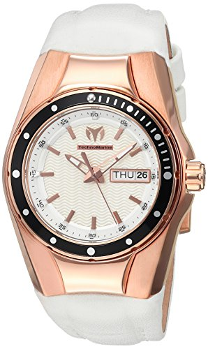 Technomarine Women's TM-115390 Cruise Quartz Silver Dial Watch
