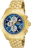 Invicta Men's 18855 Aviator Quartz Multifunction Blue Dial Watch