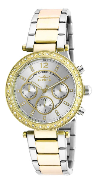 Invicta Women's 20470 Angel Quartz SIlver Dial Watch