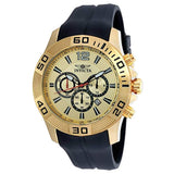 Invicta Men's 20302 Pro Diver Quartz Chronograph Gold Dial Watch