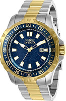 Invicta Men's 25794 Pro Diver Quartz 3 Hand Blue Dial Watch