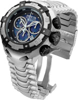Invicta Men's Bolt Steel Bracelet & Case Swiss Quartz Blue Dial Watch 21344