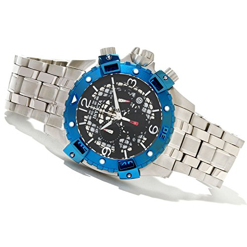Invicta 80225 Mens Specialty Sea Thunder Swiss Ronda Chronograph Bracelet Watch