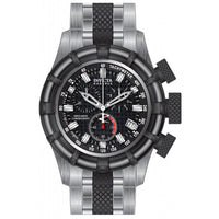 Invicta 80544 Men's Bolt Chronograph Black Dial Stainless Steel  Watch