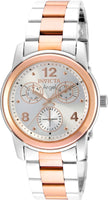 Invicta Women's 21689 Angel Quartz Multifunction Silver Dial Watch